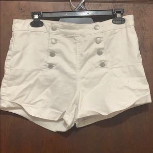 Almost Famous White Shorts